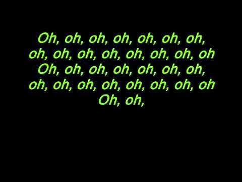 Bingo Players - Cry just a little lyrics on screen