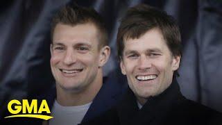 Rob Gronkowski returning to NFL with Tom Brady in Tampa Bay l GMA