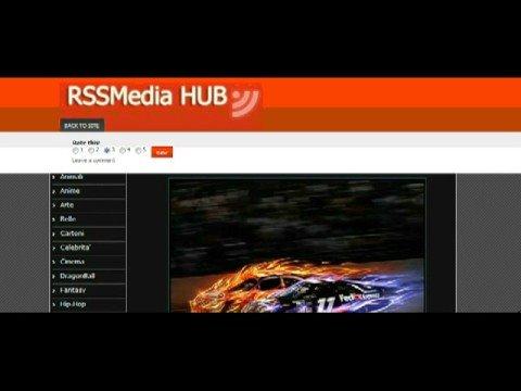 RSS Media Hub