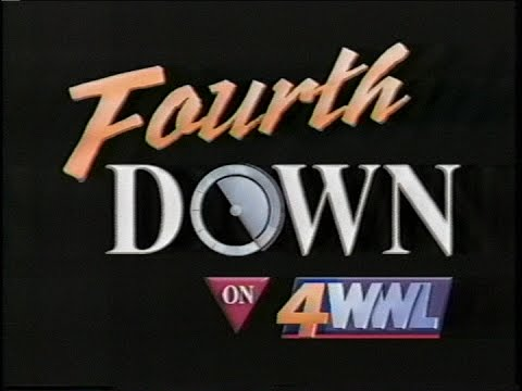 4th Down On 4 Saints Post Game Special WWL-TV 12/30/00