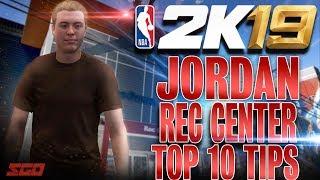 NBA 2K19 Top 10 Beginner Tips for New MyPlayers in Jordan Rec Center