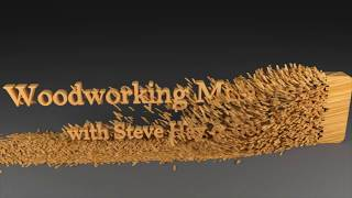 Live Wood Carving Masterclass in  by Master Carver Mike Davis from Record Power UK.