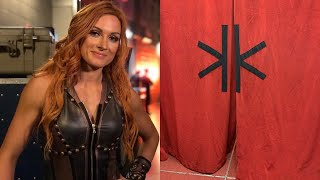 Becky Lynch Reveals Why She Posted Picture Of A Curtain During Royal Rumble