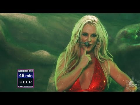 Britney Spears - Toxic (Live @ Dick Clark New Year's Rockin' Eve 2018)