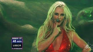 Britney Spears - Toxic (Live @ Dick Clark New Year's Rockin' Eve 2018)