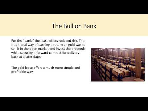 What Is Gold Leasing Explained?