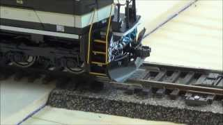 mth sd70ace ho scale low rider problem