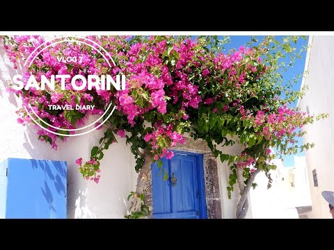 Santorini Vlog | Day 7 | Wondering Around The Streets In Fira l The Most Amazing Caldera Sunset