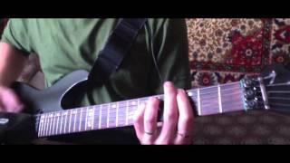 Звенит январская вьюга - аккорды для электрогитары, гитарная партия в стандартном строе