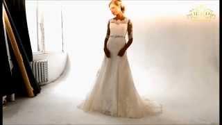 Свадебное платье Ивона, рукав, шлейф, производство