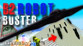 B2 Stealth Bomber Minecraft Mod vs Illuminati #4