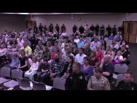 North Idaho College Basic Patrol Academy Commencement 2017