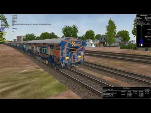 Rajkot - Rewa SF Express MSTS Openrails