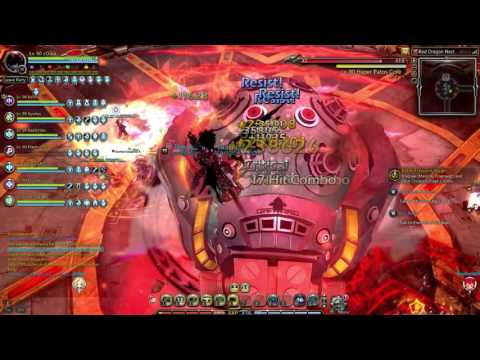 Dragon Nest Sea- Red Dragon Nest Abyss DA pov derp run