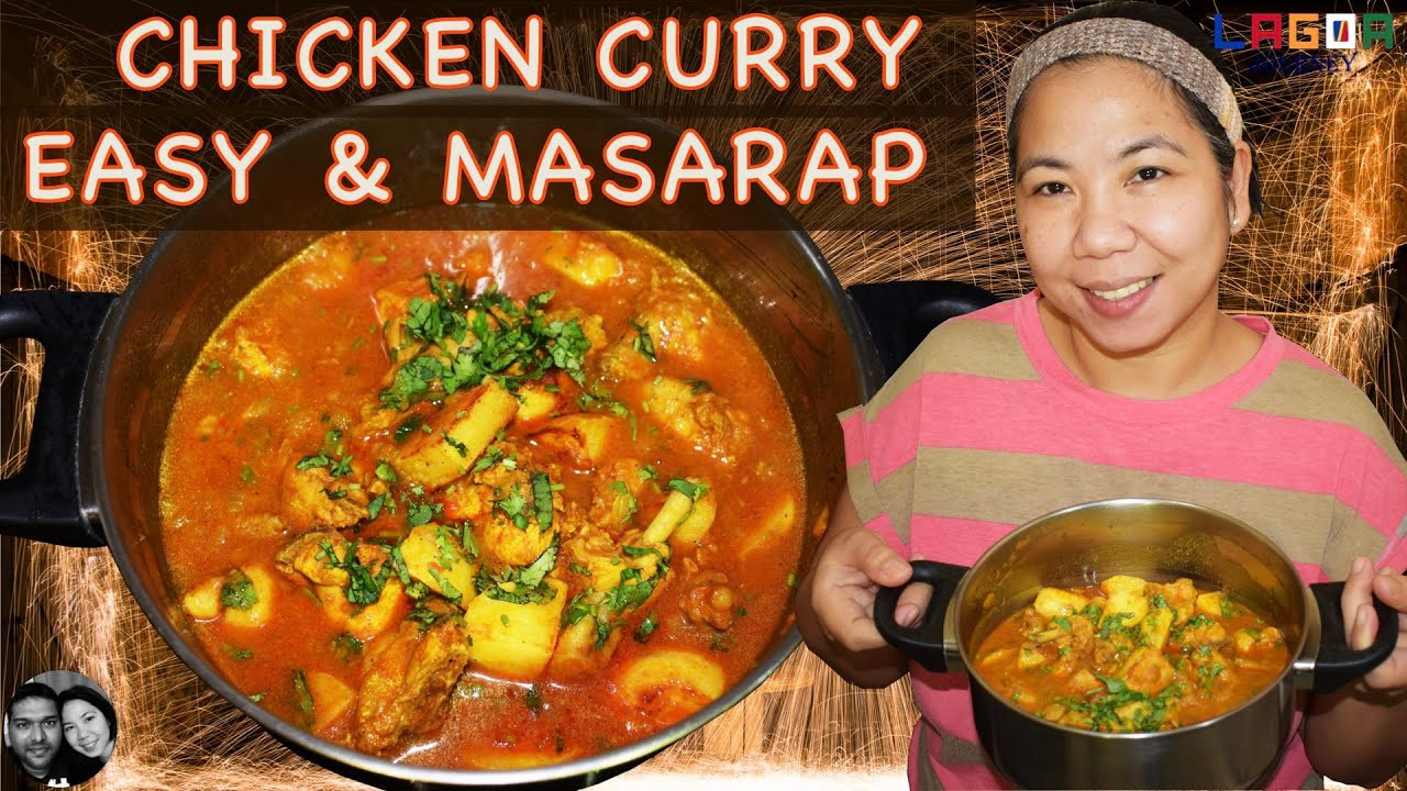 CHICKEN CURRY - EASY and MASARAP