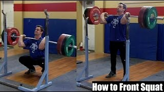 HOW To Front Squat: Proper Technique for Size, Strength & Performance