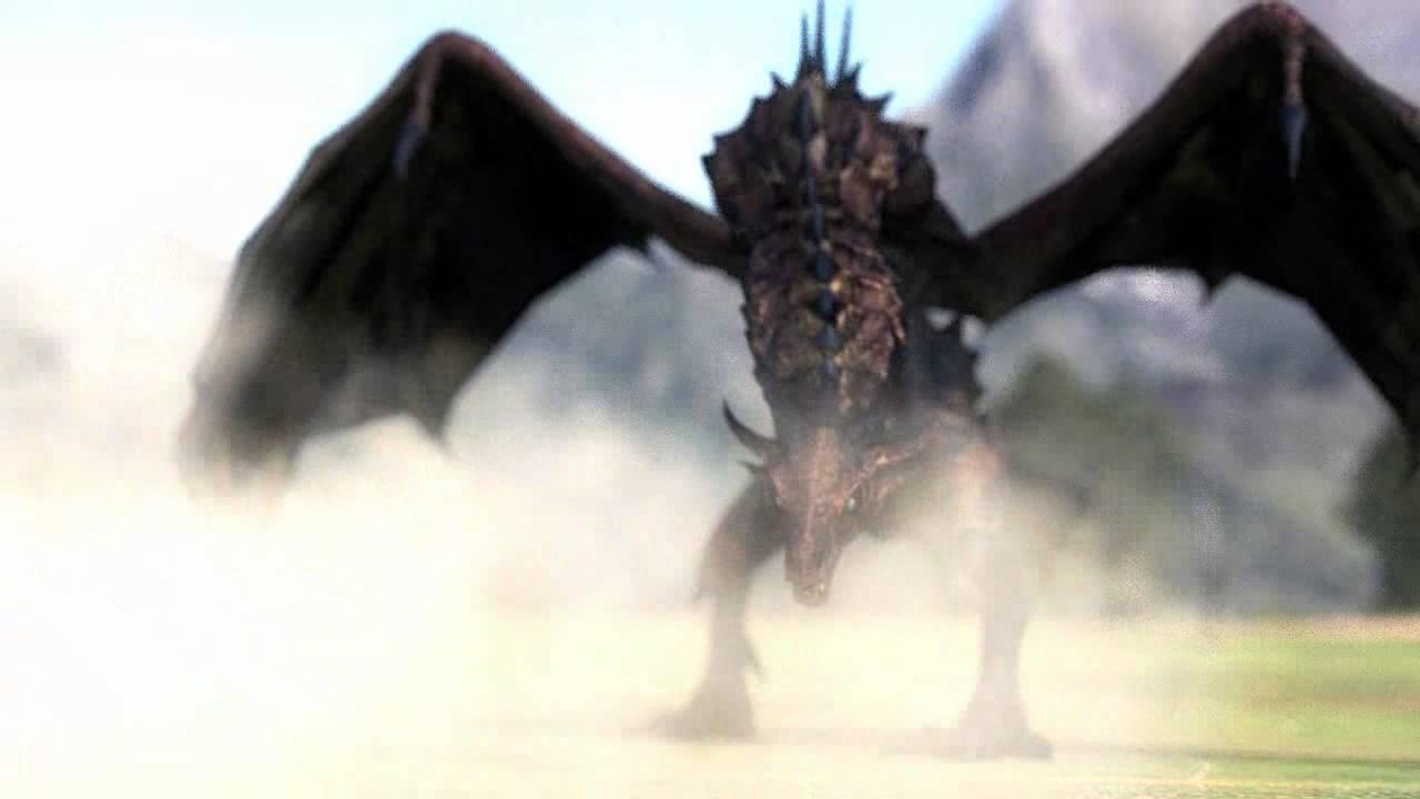 Blender Dragon Landing And Breathing Fire Youtube