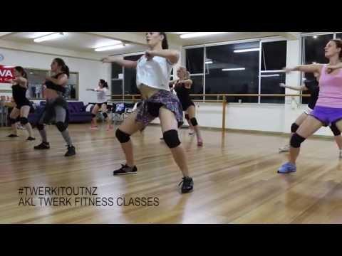 #TWERKITOUTNZ TWERK FITNESS CLASS @ VIVA DANCE, AUCKLAND