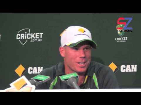 Warner's special tribute to Phillip Hughes
