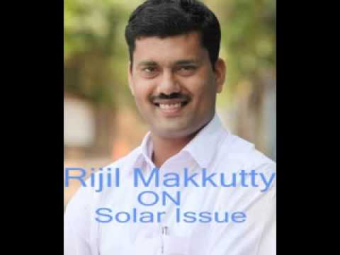 rijil makkutty on solar issue