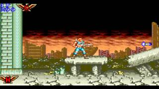 Contra Advance - The Alien Wars EX Level 1
