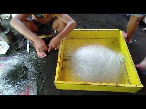 How To Make A Long Line Fishing Gear (Palagdas/Palangre) | Joe Lets Go
