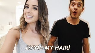 DYING MY HAIR! & MY HUSBAND
