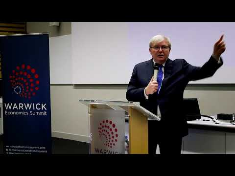 Kevin Rudd on China, Trade and Trump