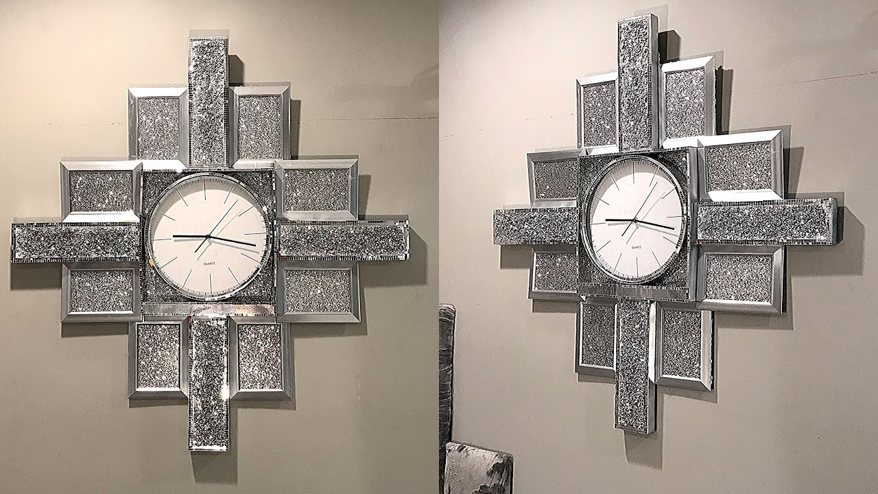 DIY GLAM CLOCK ! DOLLAR TREE DIY