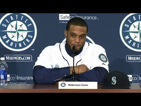 Zduriencik, McClendon welcome Cano to Seattle