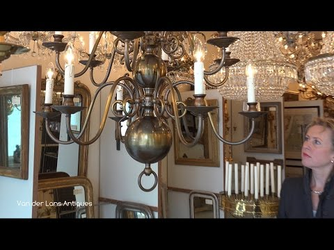 Lans Antiques, Dutch chandeliers