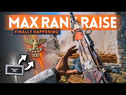MAX RANK INCREASE 🎖️ It's Finally Happening! - Battlefield 5 Update