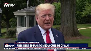 I'M STILL HERE: President Trump Says He Would Like To Send Media On A ROCKET