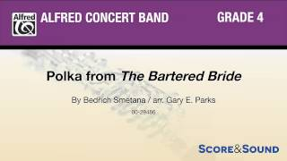 Polka from The Bartered Bride, arr. Gary E. Parks – Score & Sound