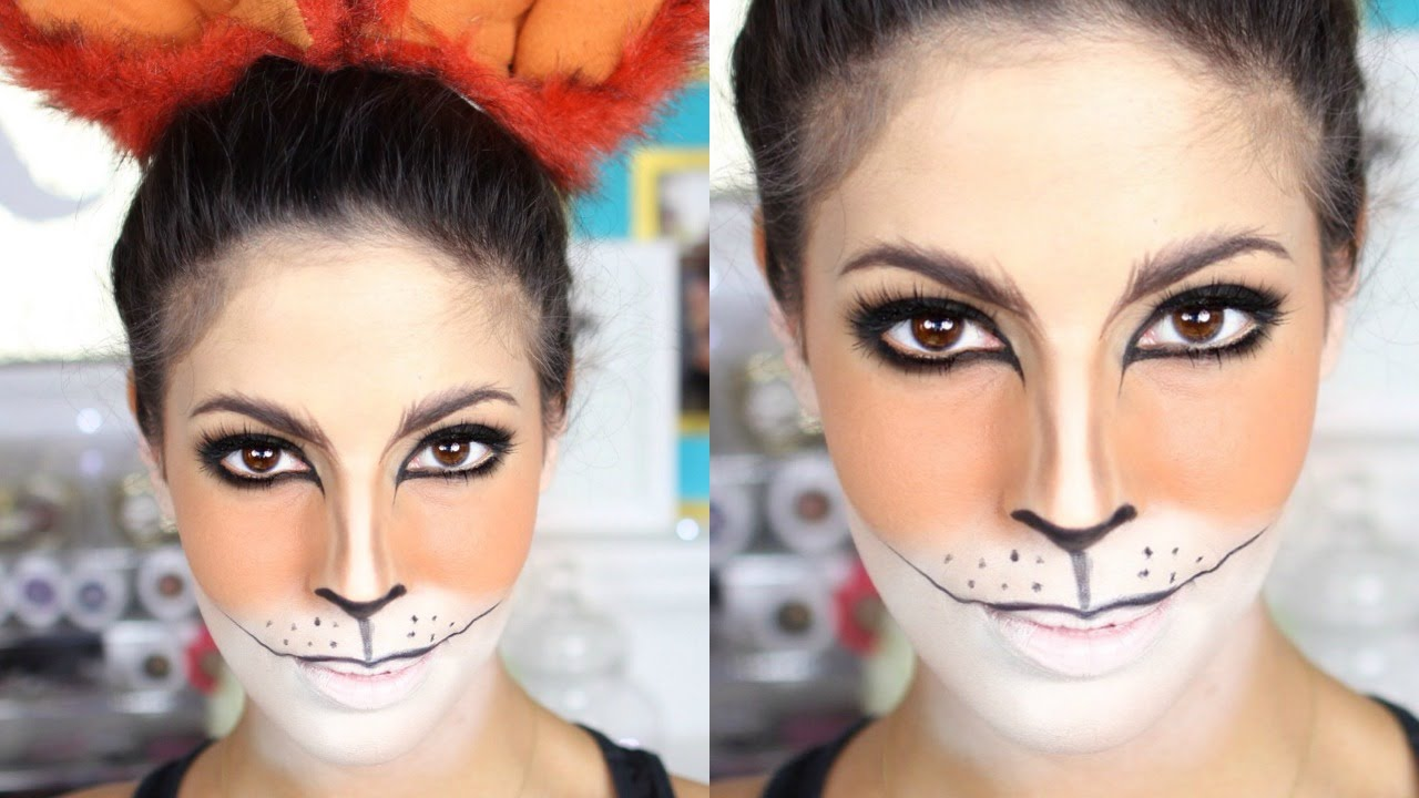 Fox Halloween Makeup Tutorial 2015 Youtube - Fox-makeup