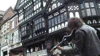Awesome Electric Violin - Ed Busking Chester