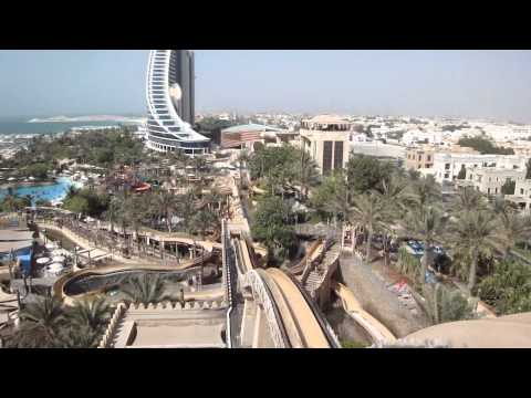 Wild Wadi Water Park in Dubai United Arab Emirates