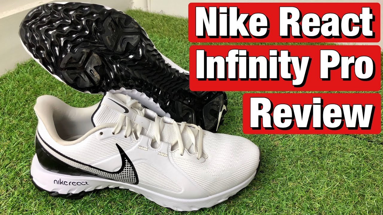 NIKE REACT INFINITY PRO GOLF SHOES REVIEW - ARE THEY WORTH £100???