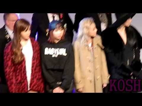 2NE1 KBEE Ending Ceremony (Fancam)