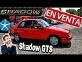 DODGE SHADOW GTS 89 ??? AUTO USADO EN VENTA ?? OJO VENDIDO EDICION ESPECIAL