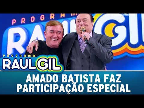 Amado Batista Faz Participação Especial | Programa Raul Gil (22/07/17)