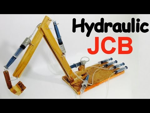 How to make JCB at Home easily   Backhoe   DIY Project