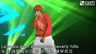 한국힙합 남자래퍼 라이브 Top 12 (개코,산이,도끼,이센스,헉피,넉살,쌈디,씨잼,비와이,루피,나플라,마이노스)