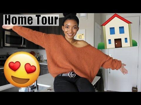 Apartment Tour 2018  Fall Decor & Luxury Apartment Tour   Brittany Daniel