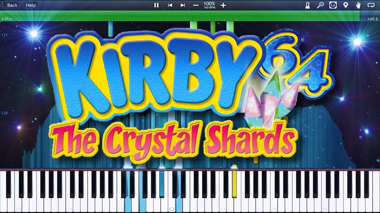 Kirby 64 DB World Map Synthesia Remix YouTube
