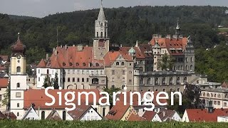 GERMANY: Sigmaringen, city castle [HD]