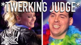Demi Lovato TWERKS To Keith Beukelaer's BIG BUTTS Remix! | X Factor Global