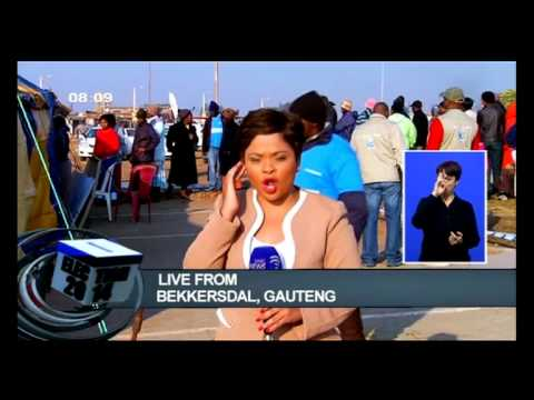 Download Bekkersdal residents brave the tense situation to vote