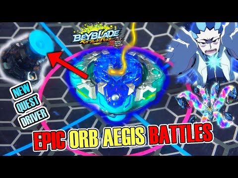 ORB AEGIS OUTER QUEST VS ALL BEYBLADE BURST CHO-Z