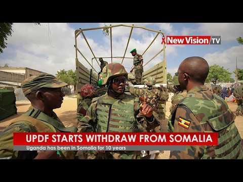 UPDF starts withdraw from Somalia